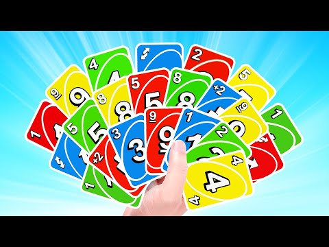 I STILL WON With THIS MANY CARDS! (Uno)