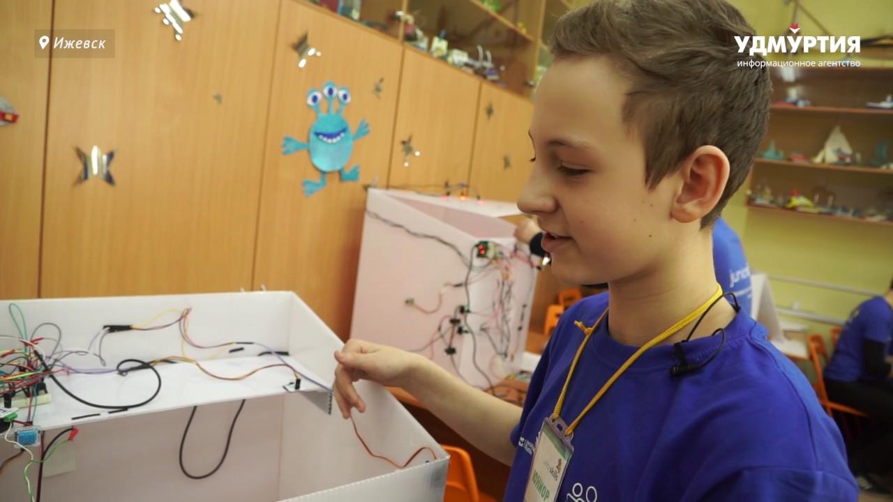 Первые соревнования JuniorSkills завершились в Удмуртии