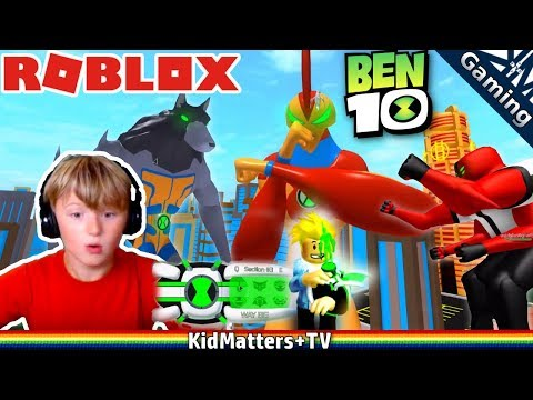 BEN 10 in ROBLOX, HOW TO be ALIENS | Ben 10 Arrival of Aliens [KM+Gaming S01E57]
