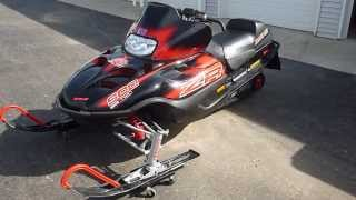 10. 2004 Arctic Cat ZR900 EFI blown up, for sale, Parting Out only.