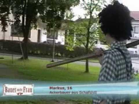 Ackerbauer Markus bewirbt sich bei Bauer sucht Frau