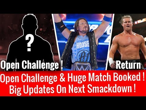 Big Matches & Open Challenge Confirmed ! On Next Smackdown Live ! WWE Smackdown 2/13/18 13 February