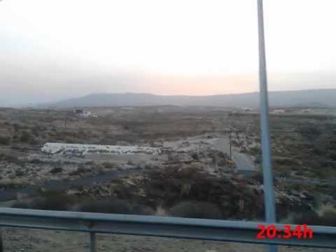 Incendio de los montes de Adeje, Vilaflor y Guía de Isora (Tenerife) desde las Eras - 17/07/12.