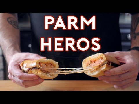 How to Make the Parm Hero Sandwiches From The Sopranos  SpongeBob SquarePants  and