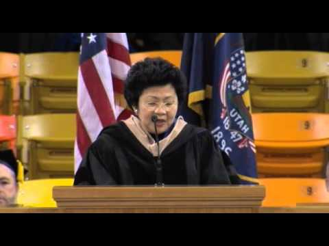 Huntsman School Undergraduate Commencement Ceremony Speaker – Saturday, May 4, 2013