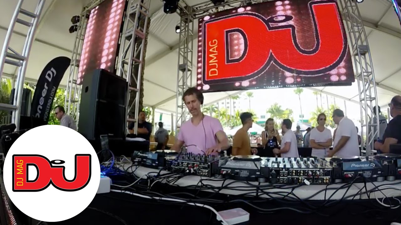 Josh Wink - Live @ DJ Mag Pool Party in Miami 2016