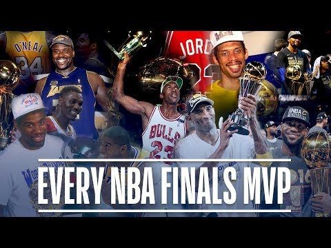 Every NBA Finals MVP in League History   Michael Jordan, LeBron James, Magic Johnson and More! (видео)
