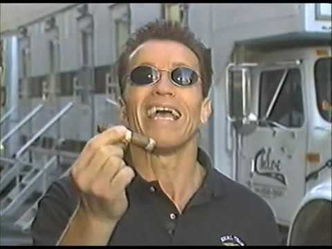 Arnold is Ballsy with his Cigars