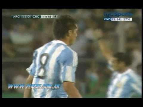 Gol de Sosa ante Costa Rica (Argentina 3 - 2 Costa Rica)