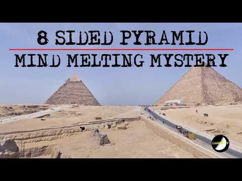其實金字塔根本就不只有4個面,最真實的「8面金字塔」只有在這張照片裡的角度才能看到!