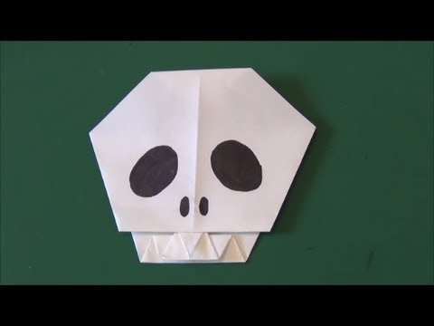 Halloween Tutorial - 007 -- Skull