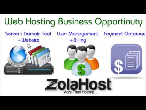 Web Hosting Business Opportunity