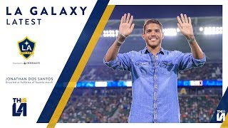 Jonathan Dos Santos was unveiled to a packed house at StubHub Center on Saturday night. Want to see more from the LA Galaxy? Subscribe to our channel at http...