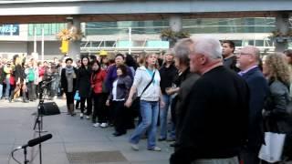 Toronto St. Patrick's Day Flashmob by Tourism Ireland