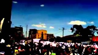 the Peaceful demo. at Nur Mesjid on 30.05.2014 ሰላማዊ ተቃውሞ በኑር መስጅድ ቁ. 01 — at ኑር መስጅድ ግንቦት 22/2006.