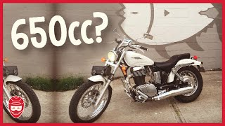 8. SUZUKI S40 BOULEVARD | 650 cc Cruiser Enough Power? | Best Beginner Motorcycle