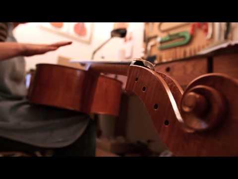 Luthier du quatuor - Anais Gassin
