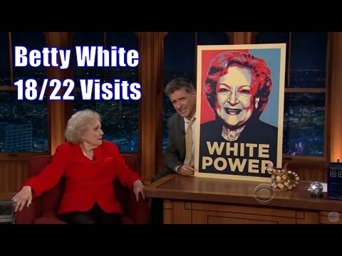 Betty White - Practically A 2 Hour Comedy Special - 18/22 Visits & More In Chron. Order