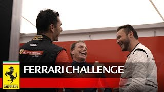 """""""Yes, it's a competitive sport, but you become friends with all of them.  It's camaraderie."""" Register to learn more about the Ferrari Challenge series and the all-new 488 Challenge racecar.https://fnaevents.ferrari.com/ Or watch an in-depth look at 488 Challenge here:  https://www.youtube.com/watch?v=q5CYNJrZV0U&t=101sFollow us on Facebook http://www.facebook.com/Ferrari Twitter @FerrariUSAInstagram @FerrariUSAFerrari Since 1947http://www.ferrari.com"""