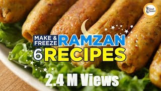 6 Make & Freeze Ramzan Special Recipes By Food Fusion