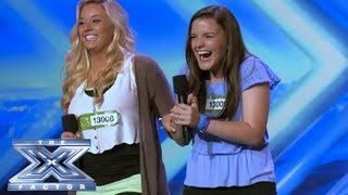 "X Factor Stars ""Thrash"" Charleston! - THE X FACTOR USA 2013"