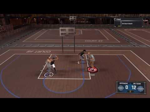 NBA 2K17 1v2 with AI Player