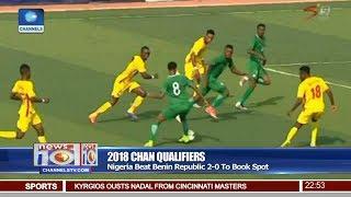 Nigeria Beat 2-0 Benin Republic To Qualify For 2018