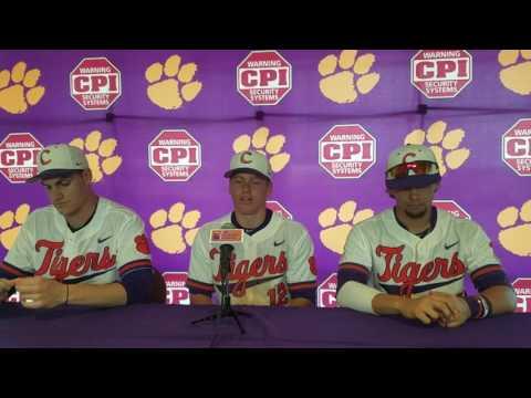 TigerNet.com - Krall, Jolly, Pinder post Virginia Tech series