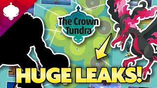 HUGE LEAKS for POKEMON CROWN TUNDRA! Full Map Breakdown and More! by aDrive
