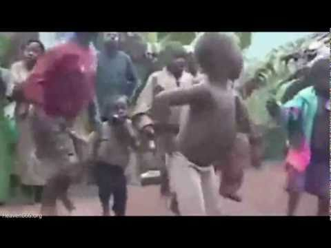 Funny African rave party!