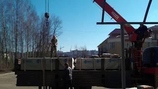 Доставка и занос стройматериалов в смоленске