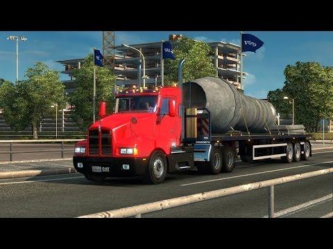 Kenworth T600 Day Cab 1.22.x