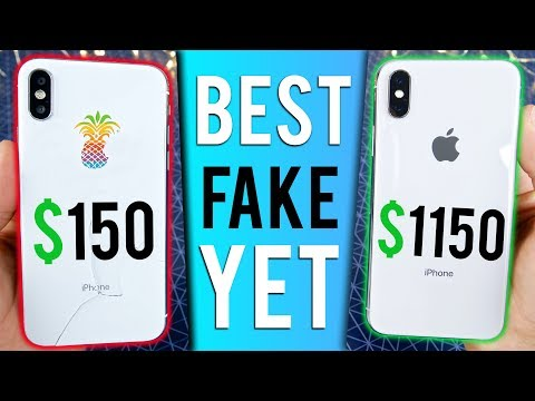 $150 Fake iPhone X vs $1150 iPhone X! How Bad Can It Be?
