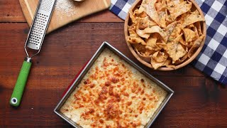 Alfredo Dip With Lasagna Chips • Tasty by Tasty