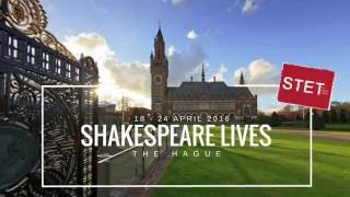 Small budget event captation: SHAKESPEARE ANNIVERSARY in The Hague