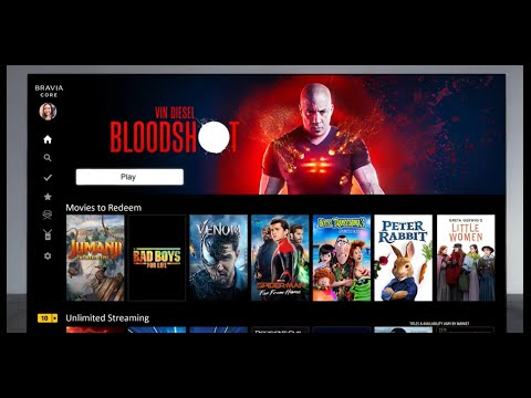 Sony - BRAVIA CORE - Enjoy movies included with BRAVIA XR