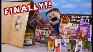 9. FNAF McFarlane Toys Series 5 Unboxing!! THEY'RE HERE!!