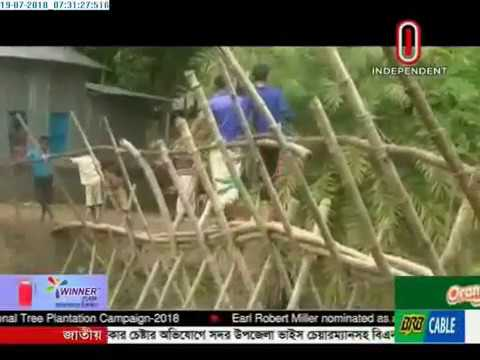 Movement with risks on Bamboo bridge (19-07-2018)