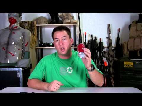 Airsoft GI - Budget Friendly Soda Can Chronograph Test