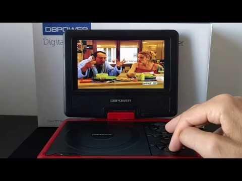 [FR] DBPower Lecteur DVD portable 7.5