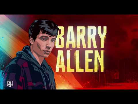 Justice League – Barry Allen aka The Flash