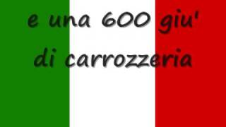 L'italiano by toto cotugno with lyrics ... lyrics ... lyrics.