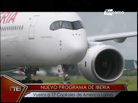 Nuevo programa de Iberia vuelos a 17 capitales de América Latina