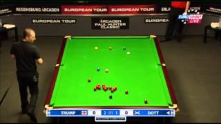 Judd Trump - Graeme Dott (Full Match) Snooker Paul Hunter Classic 2013 - Round 6
