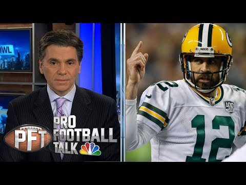 Video: Aaron Rodgers will play in final two games | Pro Football Talk | NBC Sports