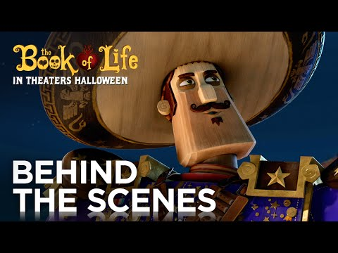 The Book of Life (Featurette 'Joaquin: Mustache Makes the Man')