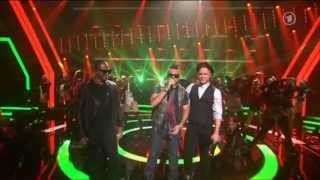 Olly Murs, Taio Cruz & Sean Paul - Heart Skips a Beat / Troublemaker / She doesn't mind (Echo 2012)