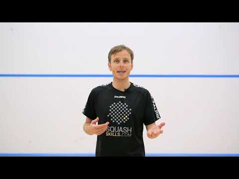 Squash tips: Playing left handers with Peter Nicol