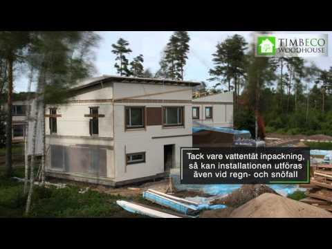 Installation av byggelement