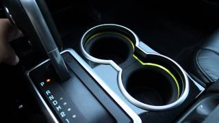 2012 Ford F-150 Harley-Davidson Interior - Colour Changeable Cupholder Ambient Lighting